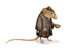 Poor as a church mouse.  strong as an ox,  cute as a button,  smart as a fox.