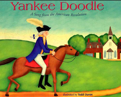 Yankee Doodle came to town, A-ridin' on a pony; He stuck a feather in his hat And called it macaroni