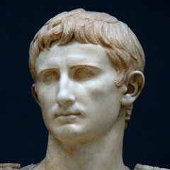 Augustus becomes the first emperor