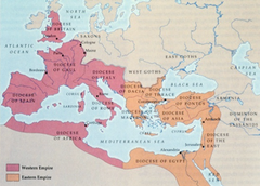 Rome Empire reaches its largest size