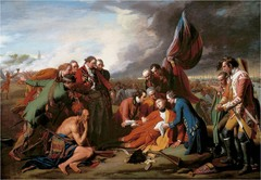 The Death of General Wolfe (1770) by Benjamin West