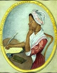 Which Enlightenment Period poet came to the colonies as a slave?