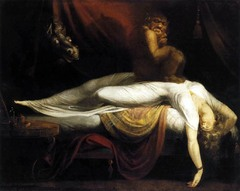Which of the following Neoclassical paintings explored elements of the supernatural?